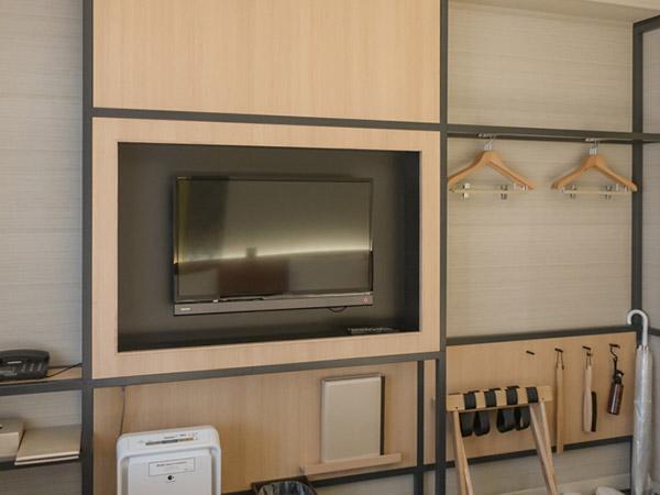 三井ガーデンホテル京都四条部屋のテレビ