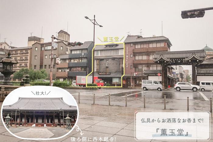 京都薫玉堂店舗