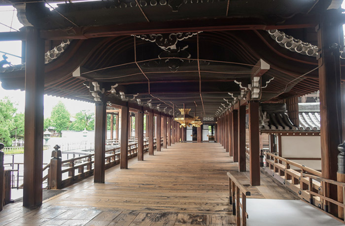 西本願寺渡り廊下