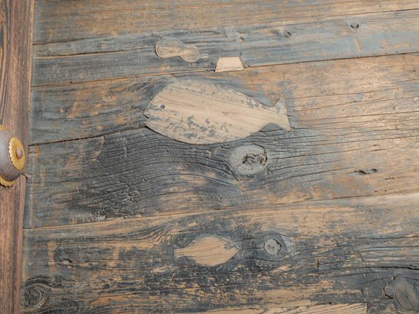 西本願寺床板