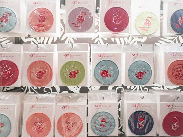 アートアクアリウム美術館雑貨小物土産コースター