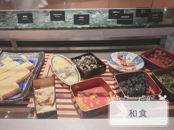 ヒルトン東京ベイ朝食ブッフェ3和食