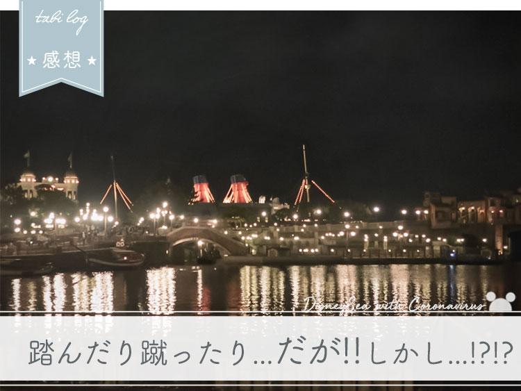 【ディズニーシーwithコロナ】 感想
