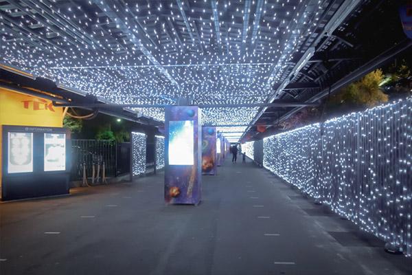 東京メガイルミトゥインクルトンネル