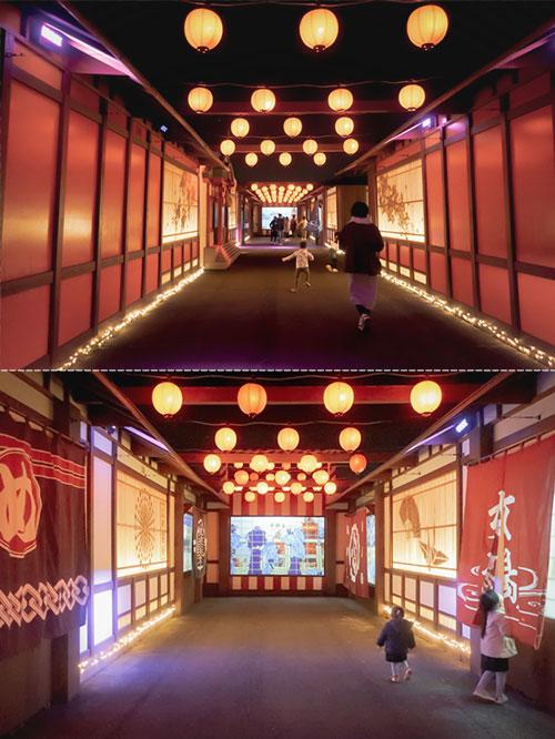 東京メガイルミ 江戸にぎわい光夜