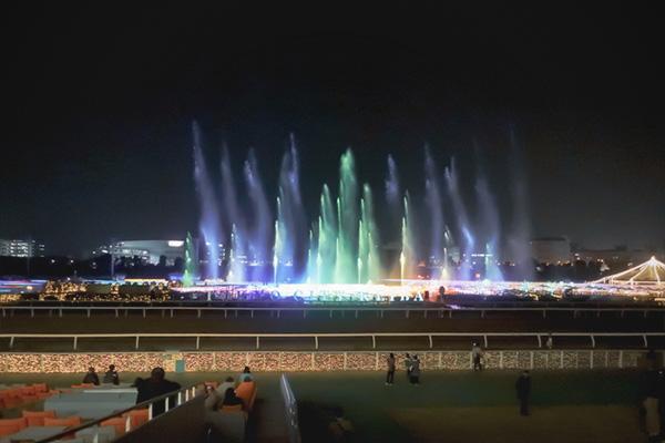 東京メガイルミ噴水ショー