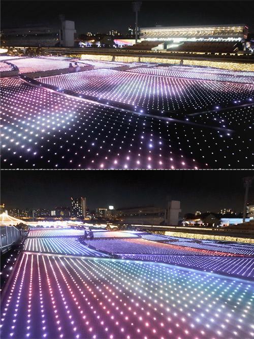 東京メガイルミ江戸極彩棚田