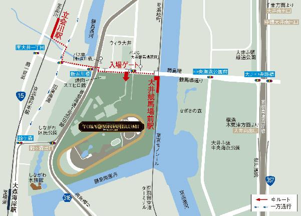 東京メガイルミ地図