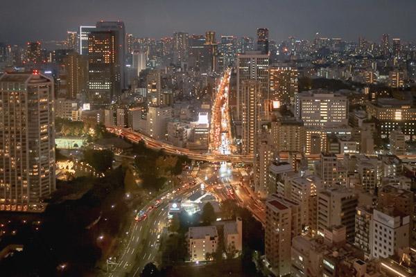 東京タワーからの眺め2