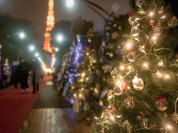 芝公園クリスマスガーデンイルミネーション