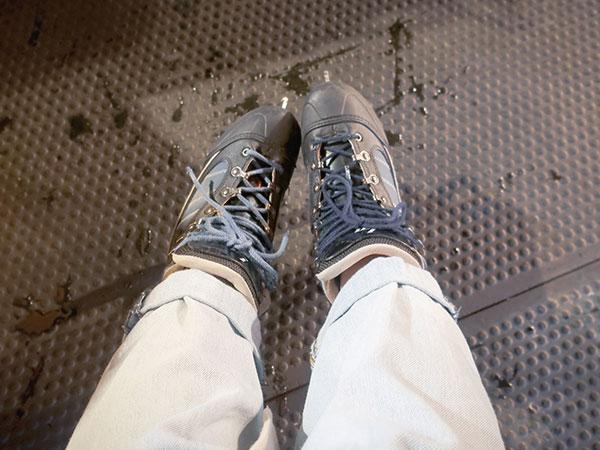 レンタルのスケート靴