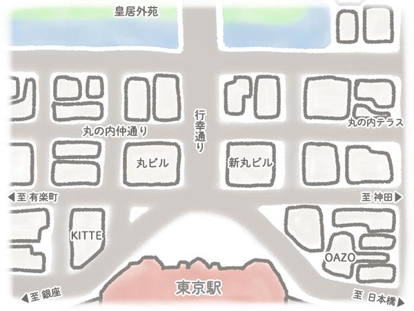 丸の内地図