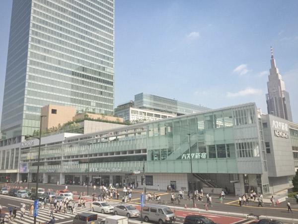 東京ホテルおすすめ場所① 新宿