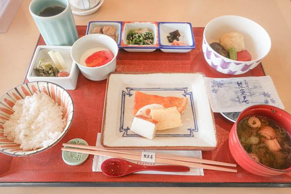 東京ドームホテル朝食(和食)