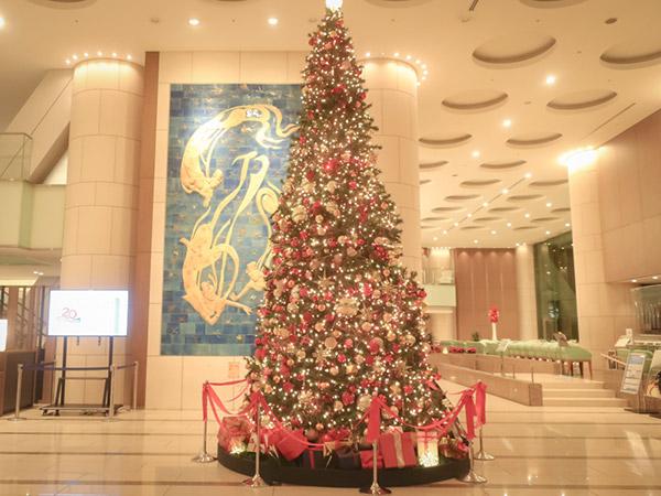 東京ドームホテルクリスマスツリー