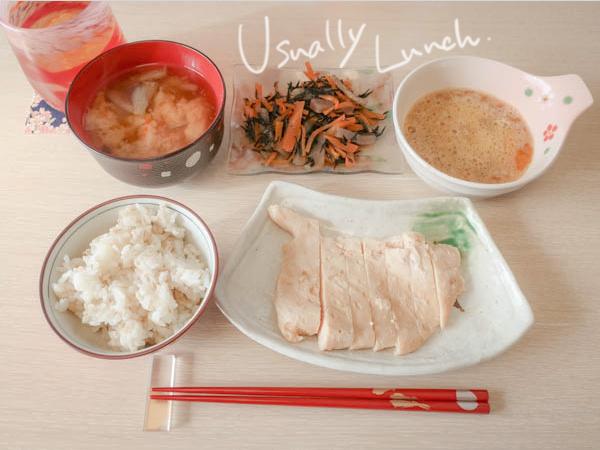 11:30にお昼ごはんです