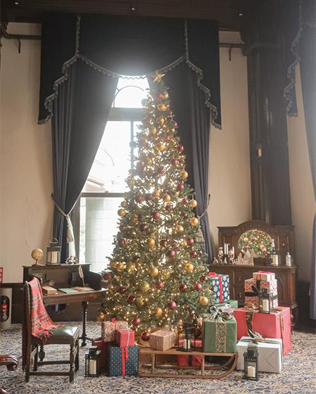 ホテルニューグランド旧館クリスマスツリー