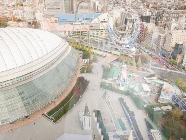 おすすめ東京観光スポット③ 東京ドームシティ