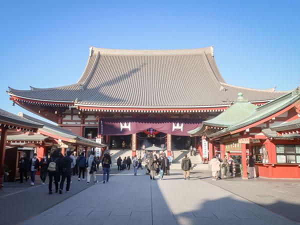 年内詣の浅草寺2