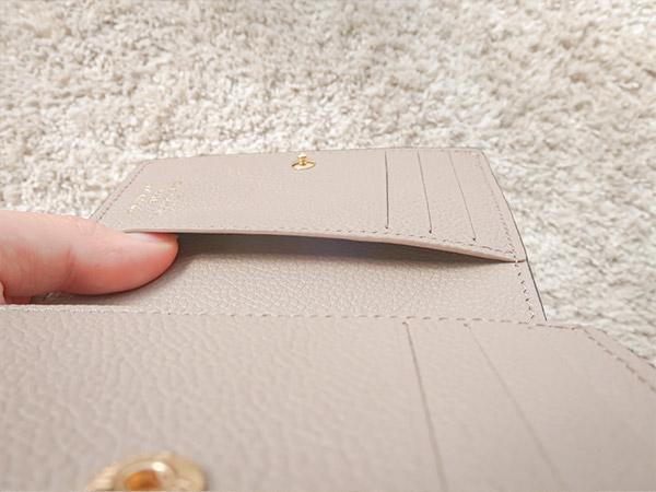 ポルトフォイユクレア内側カードケース2