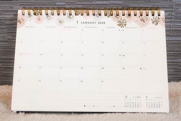 カレンダーページ