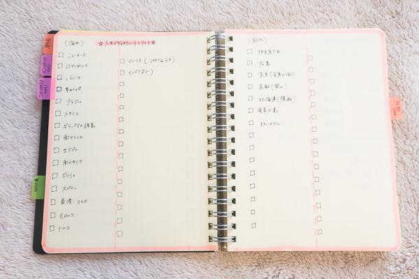 ロルバーン手帳ノートページがたっぷり!