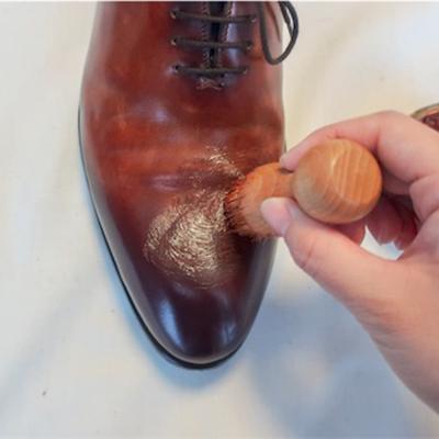 革靴色の付け方