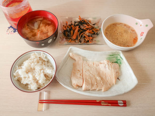ダイエット中お昼ごはん