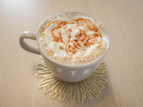 キャラメルウインナーコーヒー