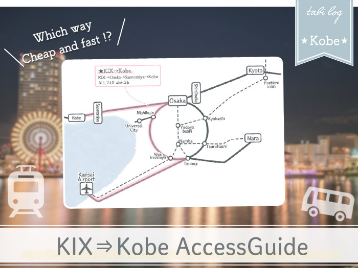 KansaiAirport→Kobe Access Guide