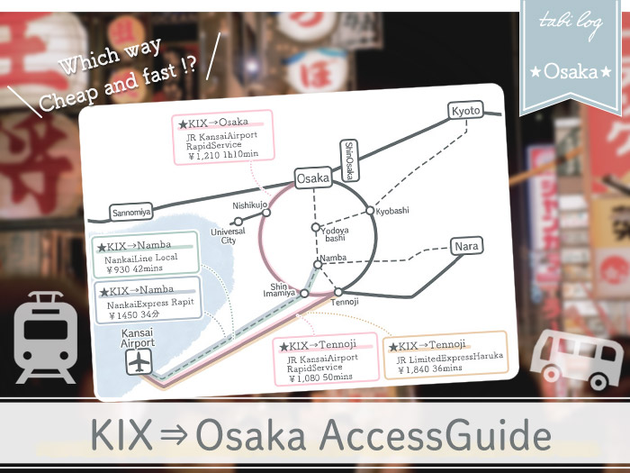 KansaiAirport→Osaka Access Guide