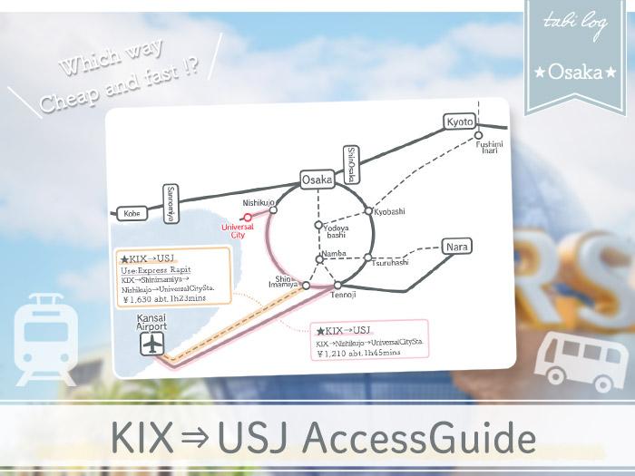 KansaiAirport→USJ Access Guide