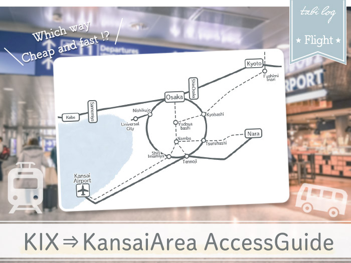 KansaiAirport to KansaiArea Access Guide