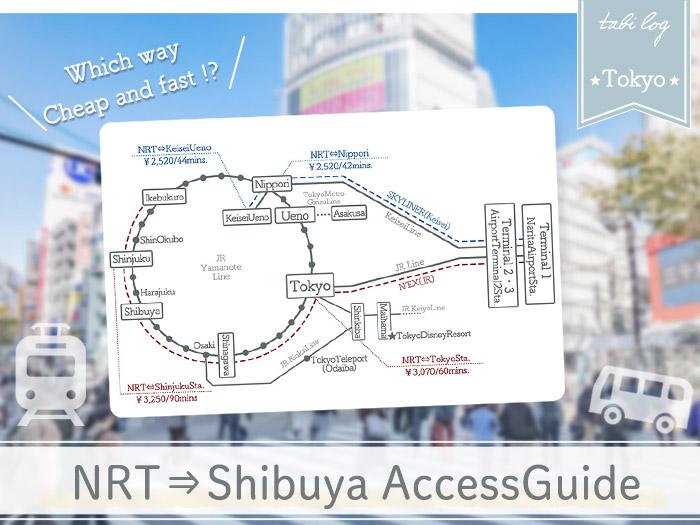 Narita Airport→Shibuya Access Guide