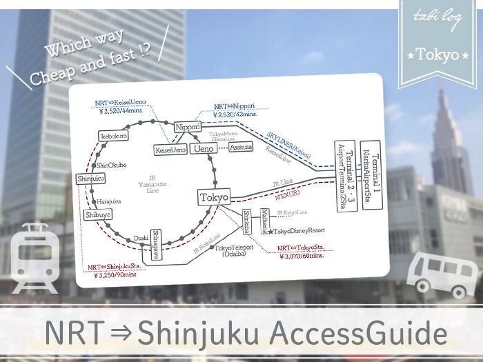 Narita Airport→Shinjuku Access Guide