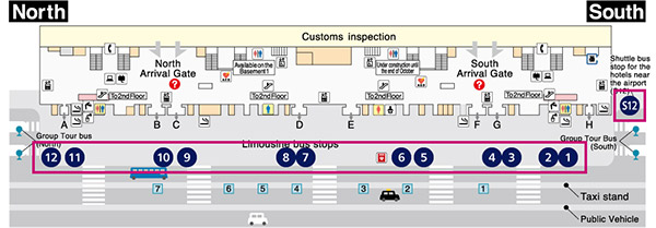 Terminal 1 busstop