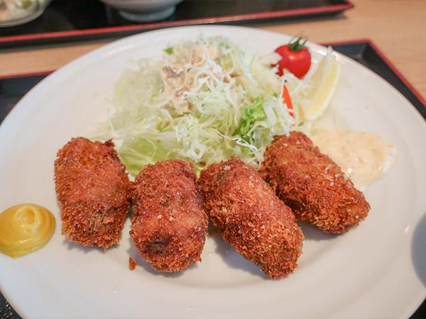 ★カキフライ定食 ¥1400